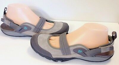 MERRELL Womens GINGER MIMOSA Suede & Nubuck Leather Sandals Shoes Sz 9.5 / 40