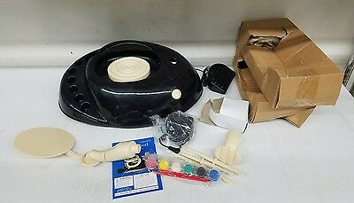 HearthSong Pottery Wheel Kit for Kids Beginners Make Your Own Arts Crafts Set