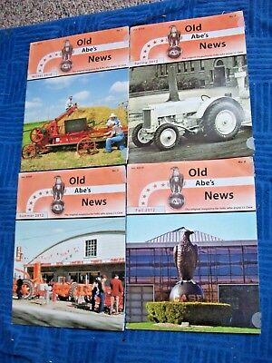 2009 Case Tractors J.I. Old Abe's News 4 Issues scaled drawing  CENTERFOLD