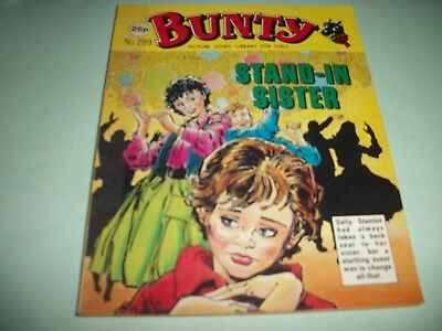 1987  Bunty Picture Story Library comic no. 289