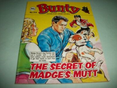 1989  Bunty Picture Story Library comic no. 314