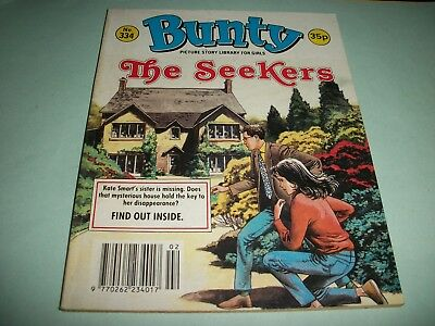 1991  Bunty Picture Story Library comic no. 334