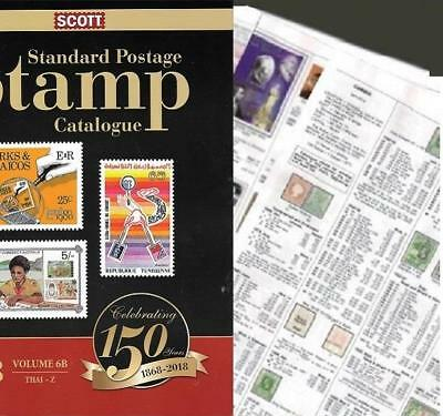 Uganda 2018 Scott Catalogue Pages 395-426
