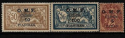 Cilicia, Mint, 101-9, Og Lh, (3) Shown, Great Group