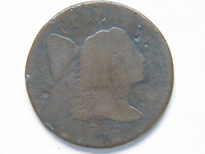 1795 plain edge large cent  VG Rare Key Date Type Coin