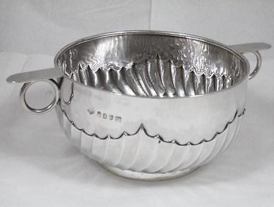 Antique 1908 Chester H'm 950 Britannia Sterling Silver Trophy Rose Bowl . 384.2g