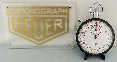 Heuer Ref. 413.202 Stoppuhr Wie Neu! Stopwatch Chronograph As New! Tag Heuer