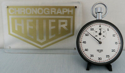 Heuer Ref. 403.201 Stoppuhr Wie Neu! Stopwatch Chronograph As New! Tag Heuer