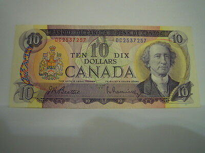 Canada $10 Banknote  1971 Series  (Dc2537257)