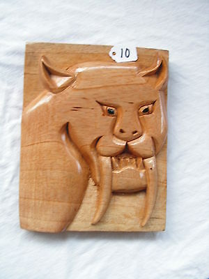 Sable  Wood Carved New. Read Before Buy