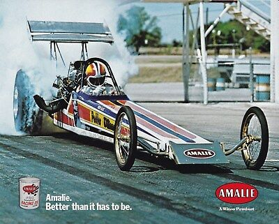 Chip Woodall -Peebles & Williams T/f Dragster Color Amalie Oil Handout