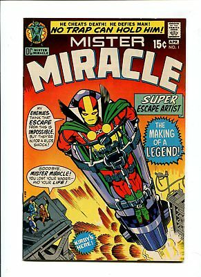 Mister Miracle #1 NM- 9.2 HIGH GRADE DC Comic PREMIERE Issue Kirby Silver 15c