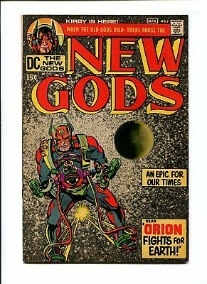 New Gods #1 NM+ 9.6 HIGH GRADE UNREAL DC Comic 1st Orion KEY Kirby Silver 15c