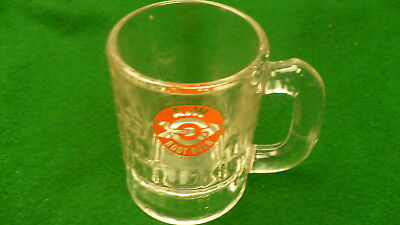 A. & W. root beer baby mug mini stein 4 ounce Canadian fast food 1960