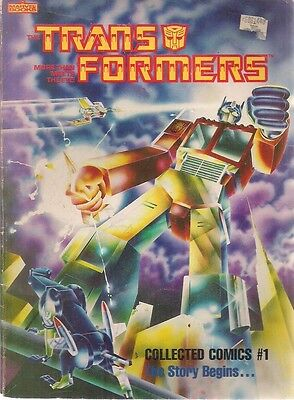 TRANSFORMERS Collected Comics #1 (1985) Marvel Books TPB