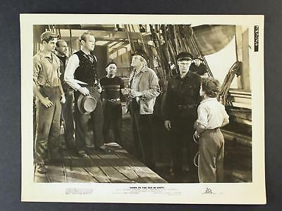 1949 Down To The Sea In Ships Movie Promo Photo~Lionel Barrymore~Richard Widmark