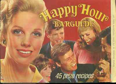 SOUTHERN COMFORT Happy Hour Barguide (1968) 12-page advertising booklet