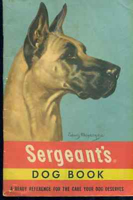 SERGEANT'S DOG BOOK (1950) 40-page illustrated booklet