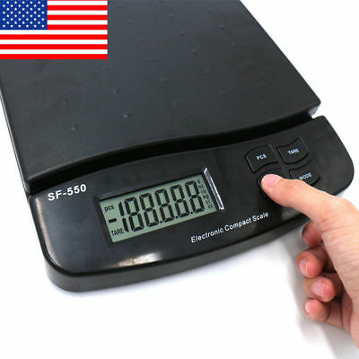 55lb x 0.1oz Digital Postal Shipping Scale V2 Weight Postage Kitchen Counting US