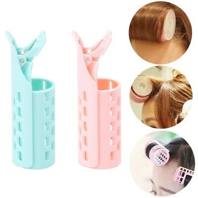 Girl Lady DIY Styling Fringe Bangs Front Curler Roller Holder Hair Pin Clip Tool