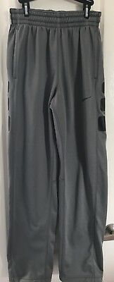 Nike Therma Fit Men's Gray Athletic Sweat Track Training Workout Pants Sz Small