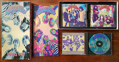 JEFFERSON AIRPLANE LOVES YOU 3 CD BOX SET 1992 DISCS BOOKLET BOX PSYCHEDELIC 60s