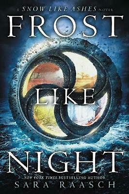 Frost Like Night by Sara Raasch Paperback Book Free Shipping!