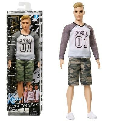Barbie - Ken Puppe Fashionistas 8 - Camouflage Comeback