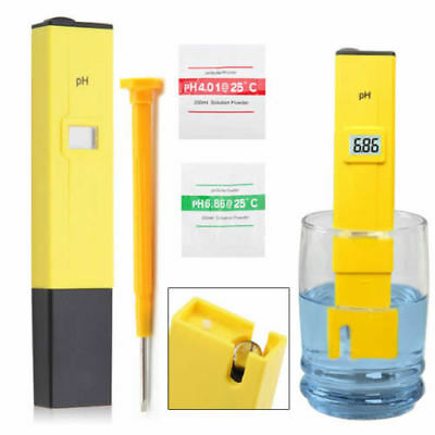 Digital PH Meter Tester Pocket Water Hydroponics Pen Aquarium Tank Pool Test