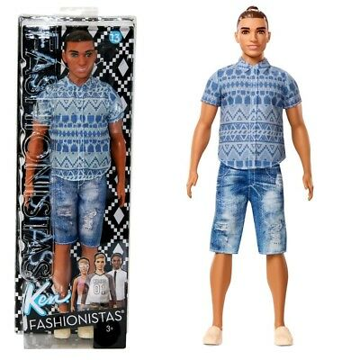 Barbie - Ken Doll Fashionistas 13 - Distressed Denim