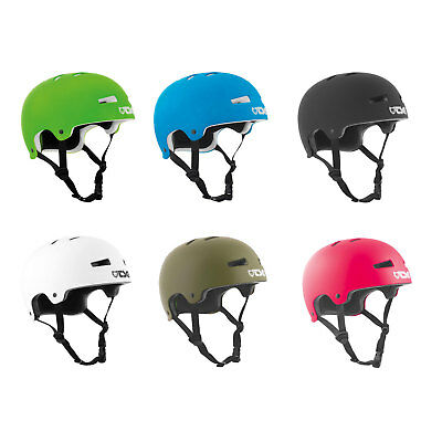 TSG Evolution Solid Colours Helmet Skater Bicycle ABS EPS Half Shell NEW