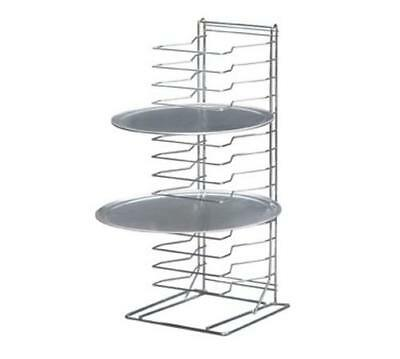 """Channel Manufacturing PR-15W Pizza Pan Stand Holds 15x 10"""" to 17"""" Pans"""