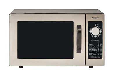 Panasonic NE-1025F Pro Commercial Microwave Oven 1000W w/ Dial Timer