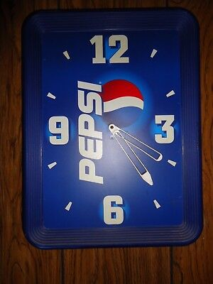 Pepsi Battery Operated Wall Clock