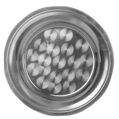 """Thunder Group SLCT018 18"""" Round Serving Tray Stainless"""
