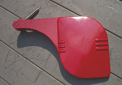 "NOS Delta Rockwell 8"" Jointer OEM Guard w/ Spring New Red Original"