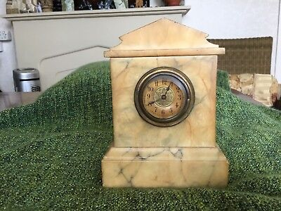 Small Marble Mantle Clock
