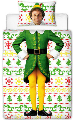 Buddy the Elf Single Bedding, with Will Farrell