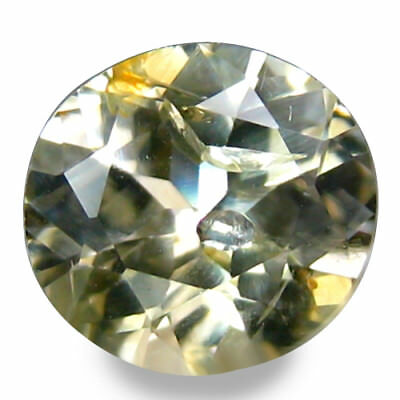 0.850Cts Glorious Luster White Natural Sapphire Oval Loose Gemstones