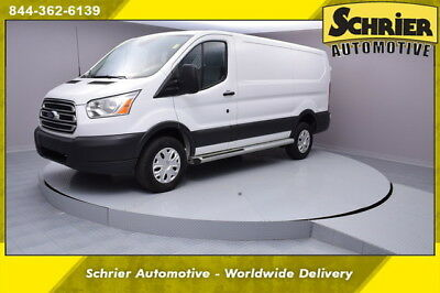 2016 Ford Transit Connect Base Standard Cargo Van 3-Door 16 Ford Transit T250 White RWD Cruise Control Auxiliary Cargo Mat