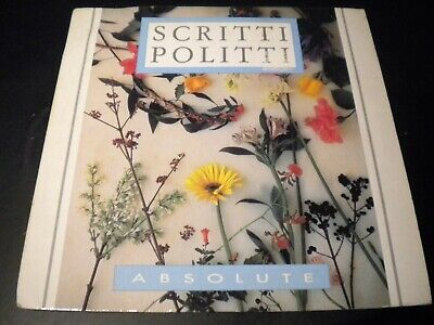 "Scritti Politti - Absolute - Vinyl Record 7"" Single - 1984 - VS 680"