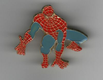 Vintage Spiderman Pin Marvel Comic Pin Marvel Ent Group Pin  dtd 1988
