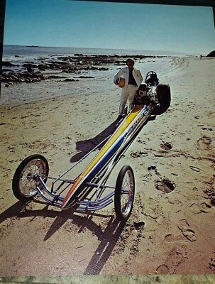 """Don """"the Beachcomber"""" Johnson 1970 Top Fuel Dragster Color Handout"""