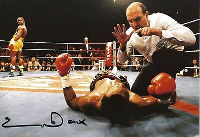 Rare Chris Eubank Signed Photo Simply The Best Super Middleweight Boxing Champio
