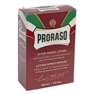 Proraso Sandalwood Oil & Shea Butter After Shave Lotion 100ml BNIB