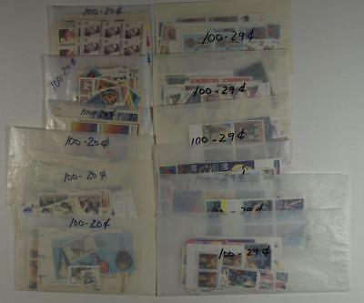 United States Postage 200 Each 29 Cent And 20 Cent $98.00 Face Value