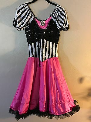 DansCo Dance Hip Hop JAZZ Ballet Lyrical Costume Adult SMALL