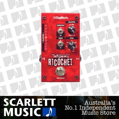 Digitech Whammy Ricochet Pitch Shift Effect Pedal *BRAND NEW*