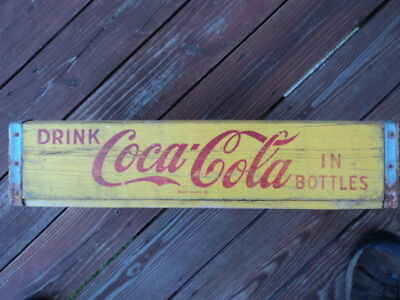 Old Coca Cola-Box / Carrier-1966 Chattanooga Tenn. -Good Cond.