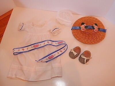 American Girl Pleasant Company Doll Felicity Summer Dress Outfit Gown